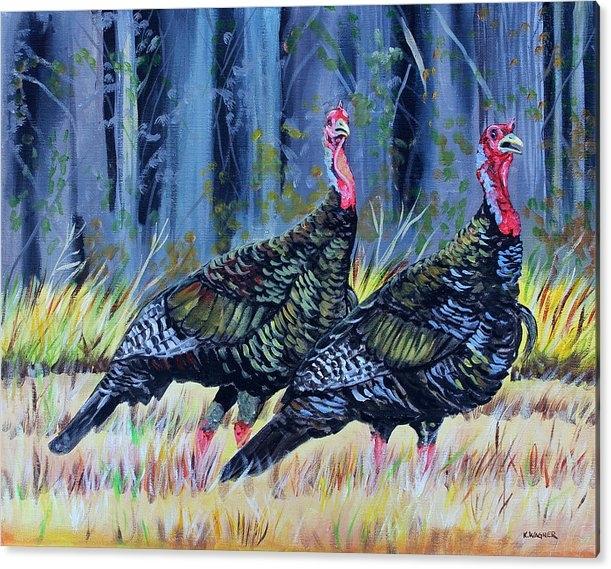 Karl Wagner - Mississippi turkeys
