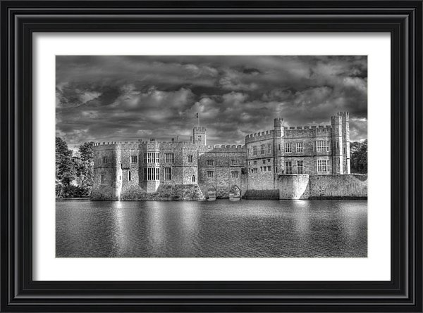 Chris Thaxter - Leeds Castle in Black and White