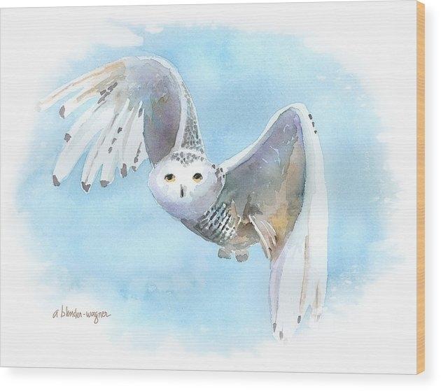 Arline Wagner - Snowy Owl In Flight
