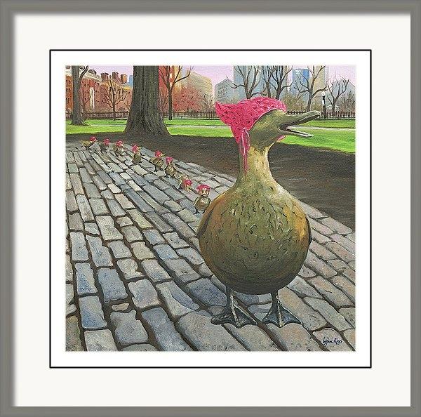 Lynn Ricci - Boston Ducklings Getting Their Pink On