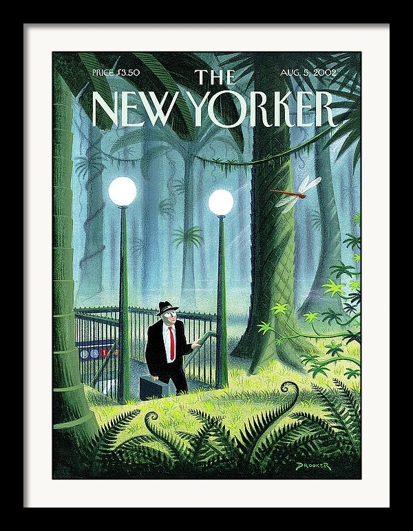 Eric Drooker - New Yorker August 5th, 2002