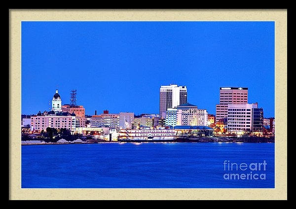 Denis Tangney Jr - Evansville, Indiana Skyline