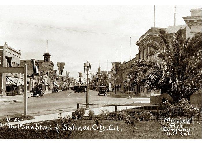 Leader Bakery, Main Street Salinas, City, Cal. Circa 1918 by California Views Archives Mr Pat Hathaway Archives
