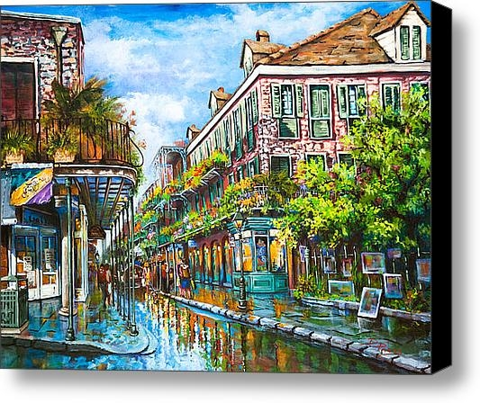 Royal at Pere Antoine Alley, New Orleans French Quarter Canvas Print
