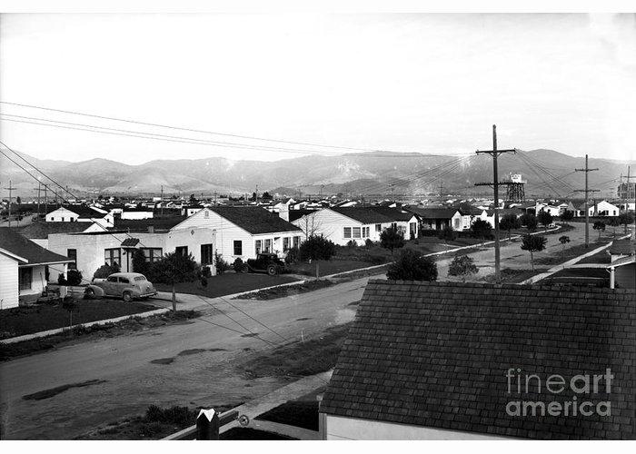 Acacia Park Salinas circa 1950 by California Views Archives Mr Pat Hathaway Archives