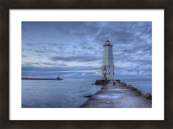 Frankfort Michigan Lighthouse by Twenty Two North Photography