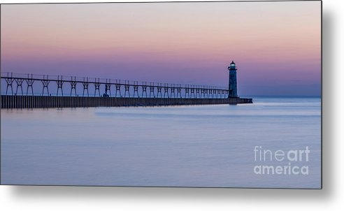 Manistee Lighthouse and Pier by Twenty Two North Photography