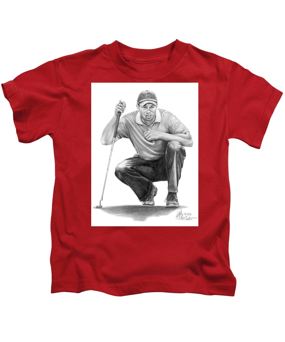 Tiger Woods Crouching Tiger Youth T-Shirt