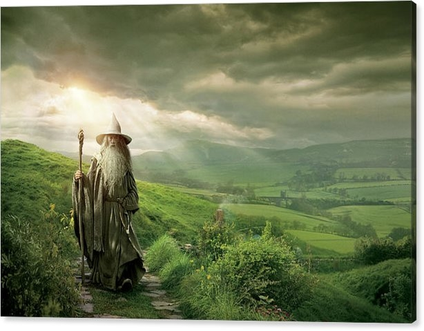 The Hobbit An Unexpected Journey 2012  Canvas Print