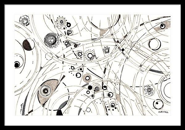 Diffracting around by Regina Valluzzi