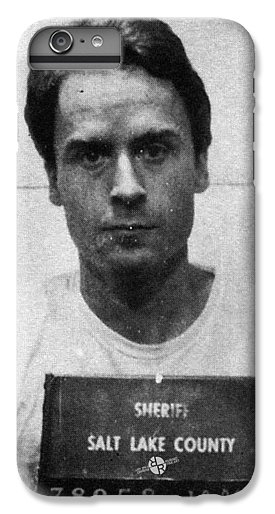 Ted Bundy Mug Shot 1975 Vertical  Galaxy Case