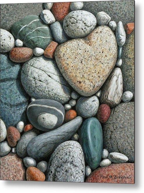 Heartstones VI by Paul Breeden