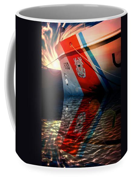Coast Guard USCG ALERT Wmec-630 by Aaron Berg