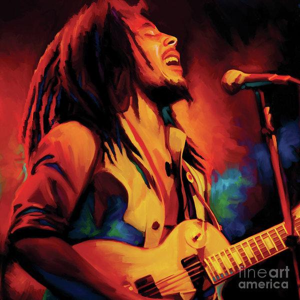 Bob Marley Artwork CUSTOM by Sheraz A