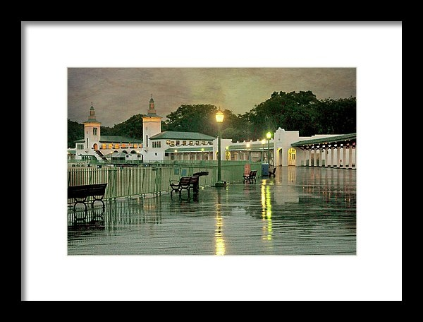 The After Rain Framed Print