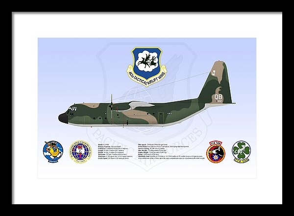 C-130B 3611 V1 60-0302 by Casey Comer