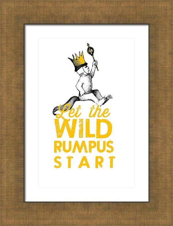 Let the Wild Rumpus Start by Kenneth Wilkins