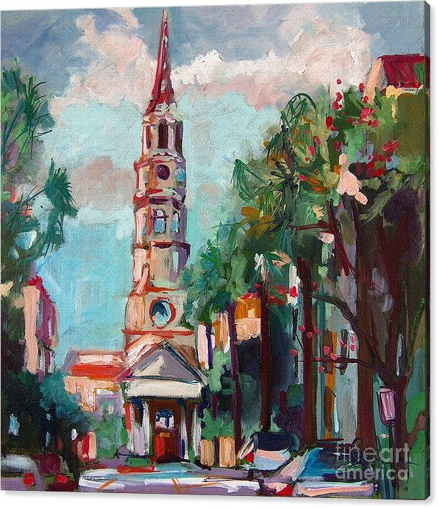 Charleston St Phillips Church by Ginette Callaway