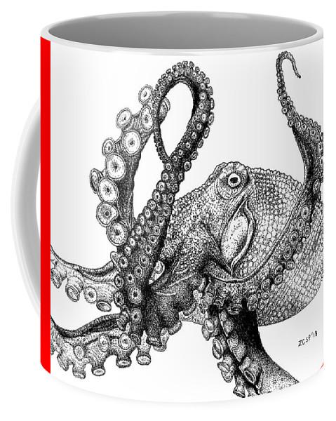 Giant Pacific Octopus - Enteroctopus dofleini by Zephyr Polk
