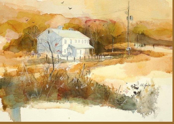Stanton's Mill in Fall by Robert Yonke