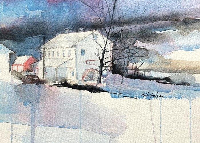 Stanton's Mill in December by Robert Yonke