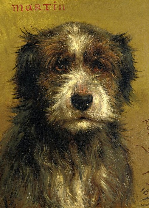 Martin, a Terrier by Rosa Bonheur