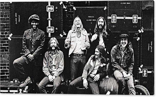The Allman Brothers Band by Queso Espinosa