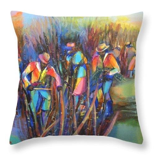 Sugar Cane Harvest by Cynthia McLean
