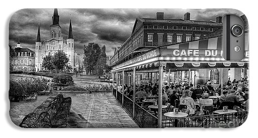 Cafe du Monde Black and White by Alex Demyan