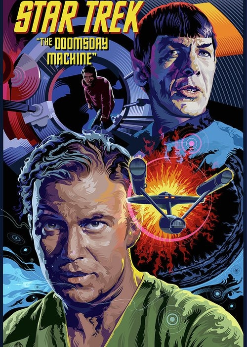 Star Trek Doomsday Machine by Garth Glazier