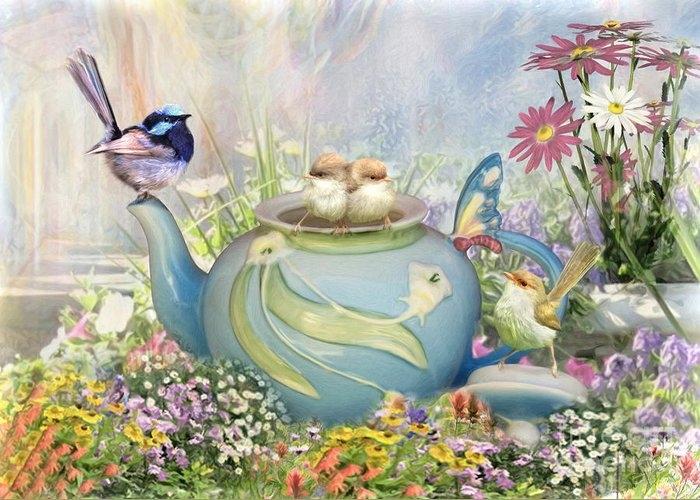 Tiny Tea Party by Trudi Simmonds