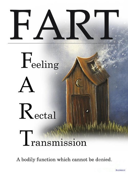 FART Buseyism by Gary Busey by Buseyisms Inc Gary Busey