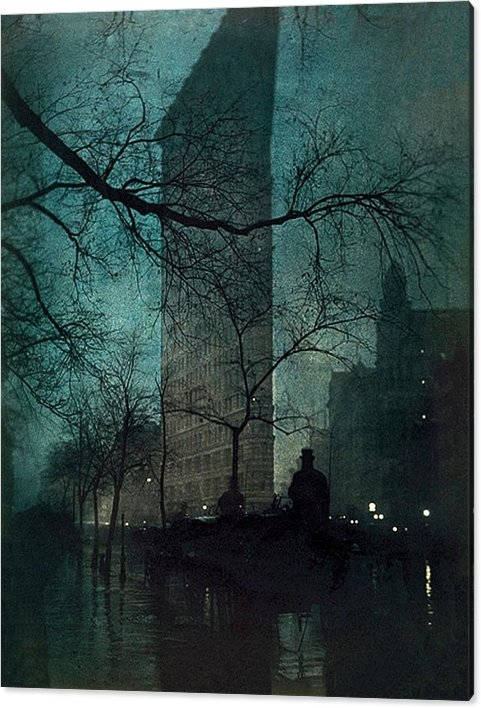 The Flatiron Building by Edward Steichen