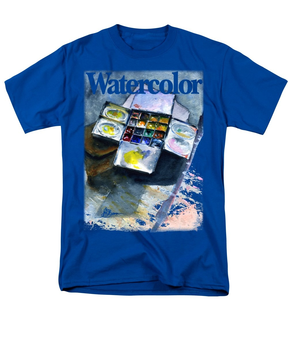 Watercolor Pallet Shirt by John D Benson
