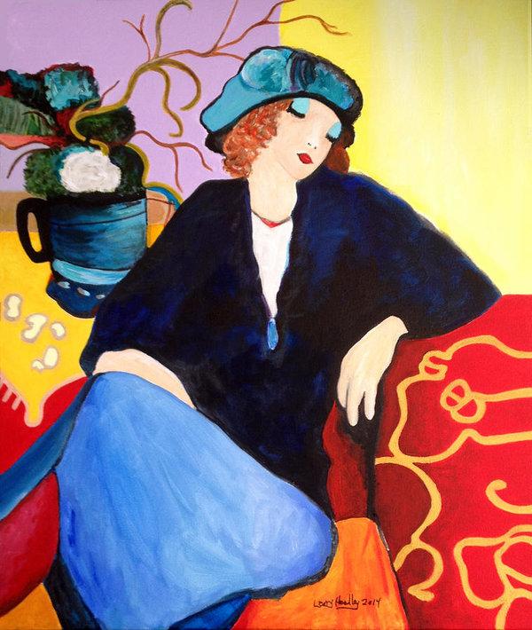 Tarkay Suzanne Study by Larry L Headley