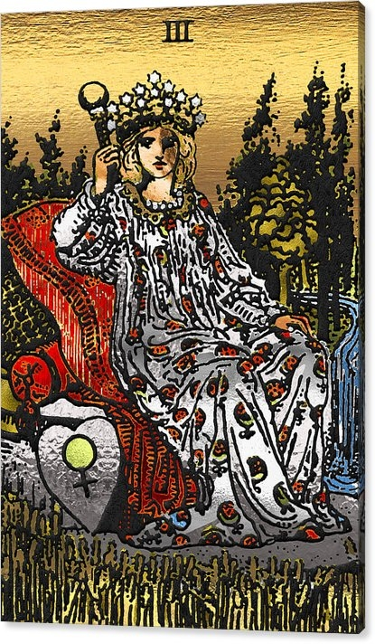 Tarot Gold Edition - Major Arcana - The Empress by Serge Averbukh