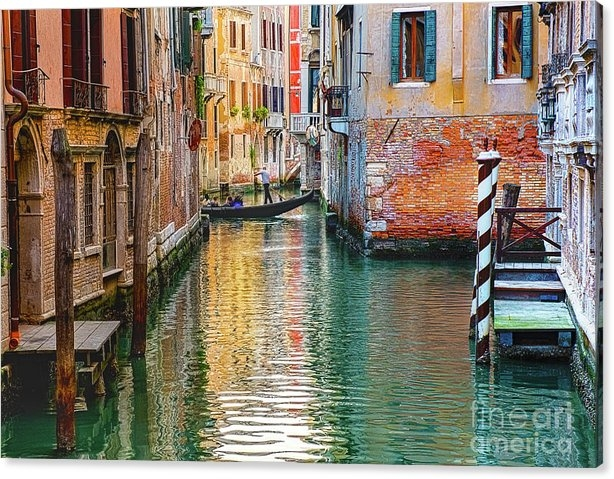 Venetian Streets by MaryJane Armstrong