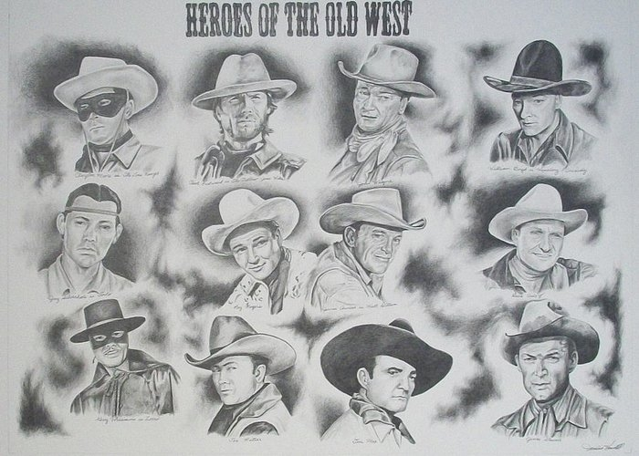 Heroes of the Old West by Janice Howell
