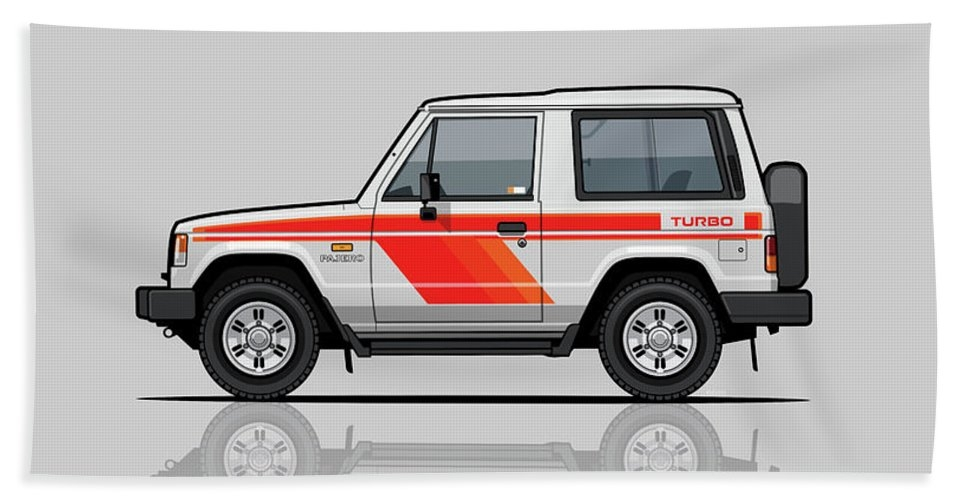 Mitsubishi Pajero Montero Shogun 3 Door Turbo Diesel by Monkey Crisis On Mars