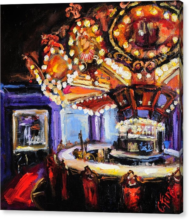 Hotel Monteleone Bar by Carole Foret