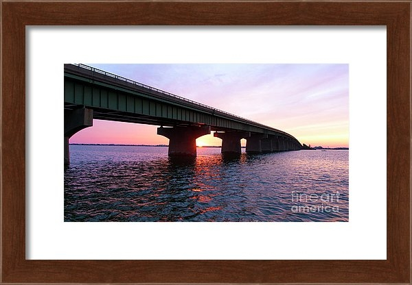 Goodnight Long Beach Island Framed Print