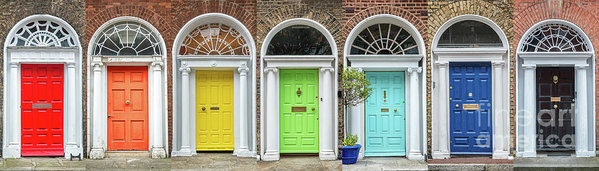 Dublin rainbow by Delphimages Photo Creations