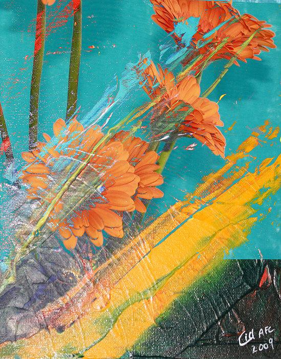 Orange Burst by  Cid