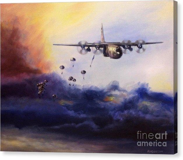 Airborne Jump by Stephen Roberson