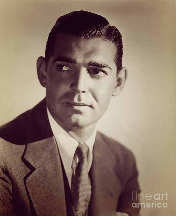 Clark Gable, Vintage Movie Star by Esoterica Art Agency