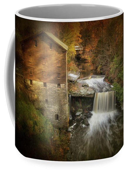 Lanterman's Mill in Autumn 2 by Rosette Doyle
