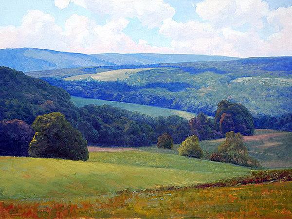Crooked Run Valley by Armand Cabrera