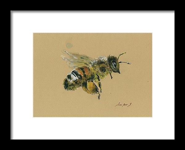 Honey bee by Juan Bosco