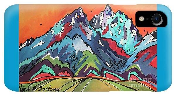 Sunset Over the Tetons by Nicole Gaitan