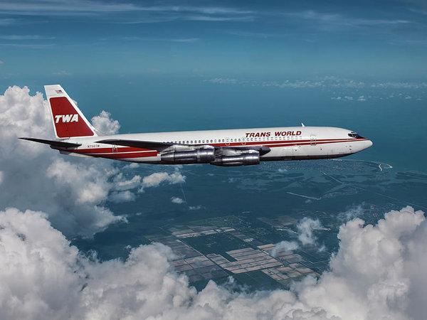 Trans World Airlines Boeing 707 by Erik Simonsen